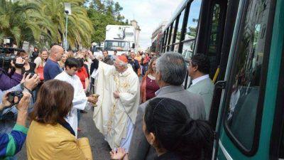 Karlic encabezó la misa por el Día Internacional de los Trabajadores