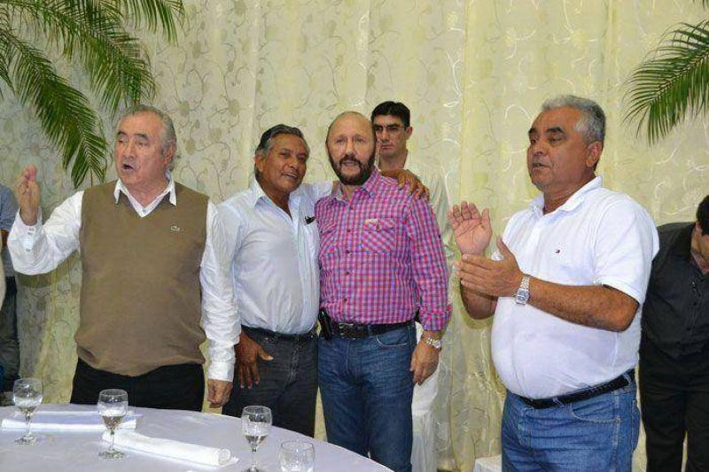 Renovado apoyo del movimiento obrero a Insfrán