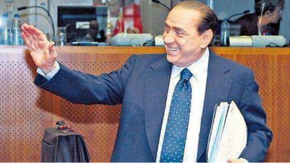 Varias argentinas en las fiestas de Berlusconi.