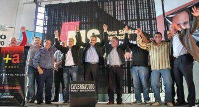 "Martínez y Galmarini lanzaron la mesa sindical ""Massa Presidente"""