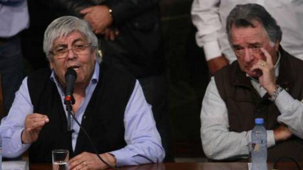 Hugo Moyano desautorizó a su hijo por sus polémicos dichos