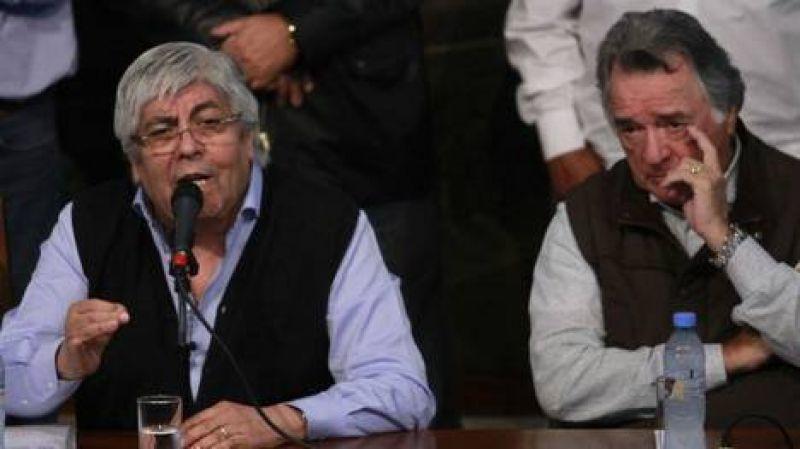 Hugo Moyano desautoriz� a su hijo por sus pol�micos dichos