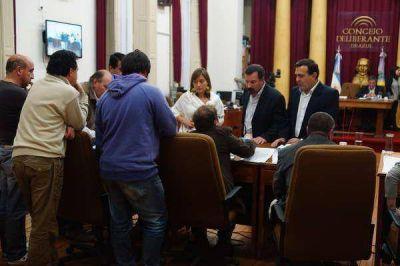 En otra lastimosa sesi�n, el Concejo Deliberante aprob� el aumento de tasas