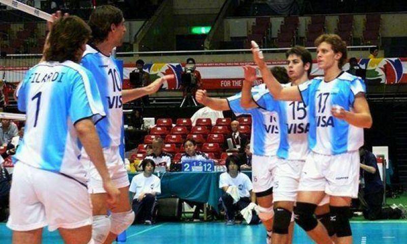 Liga Mundial: Argentina venció a Francia.