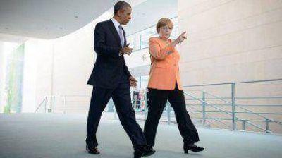 Obama recibe a Merkel en la Casa Blanca con la crisis ucraniana como tema principal