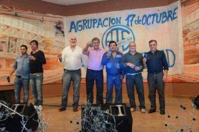 Cariglino celebró el Día del Trabajador en Punta Lara