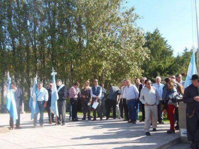 Veteranos de Malvinas recordaron a los caídos del Crucero General Belgrano