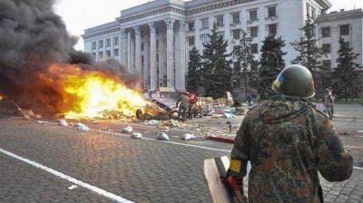 Crisis en Ucrania: violentos enfrentamientos dejan casi 50 muertos