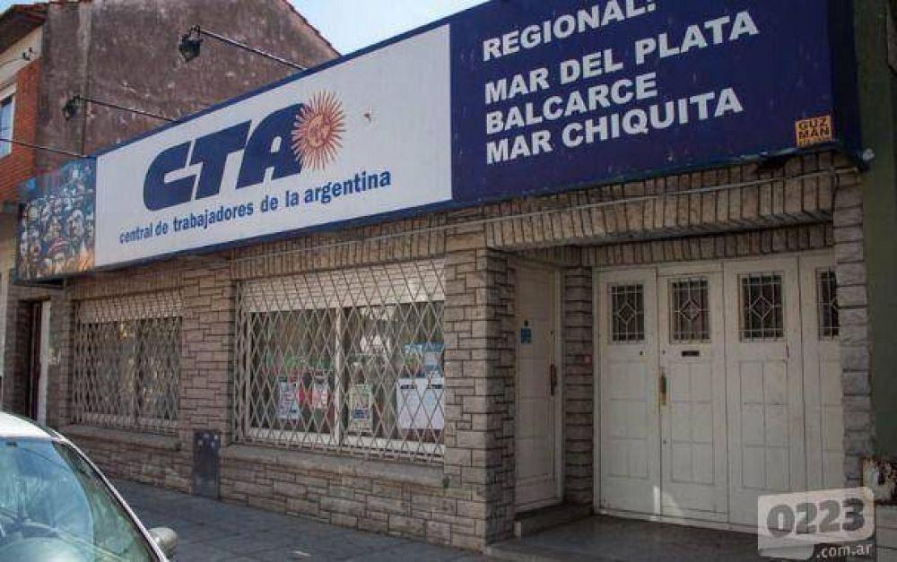 Elecciones en la CTA: se presentaron los candidatos de la lista 1