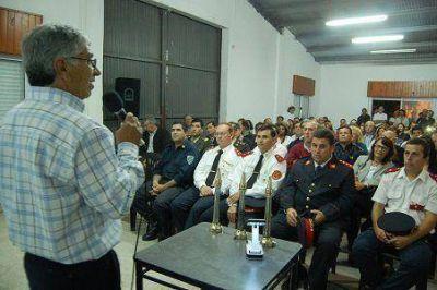 Presentaron la Asociación de Bomberos Voluntarios de Pueblo General Belgrano
