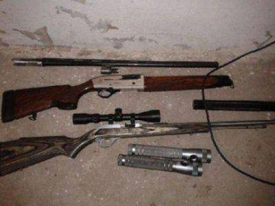Secuestran casi 3 mil cartuchos y armas largas en allanamientos en la zona rural