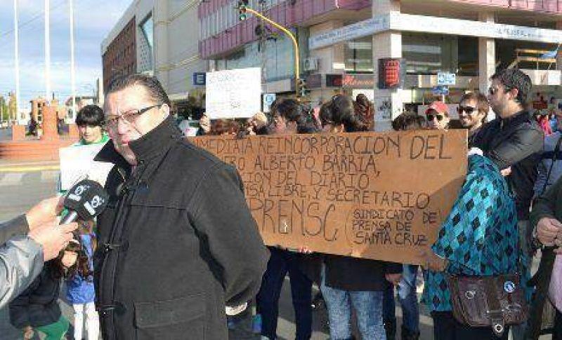 Gremio de periodistas pidió por incorporación de Alberto Barría