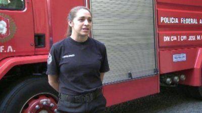 El Gobierno y la Ciudad rinden homenaje a la primera mujer bombero muerta en Barracas