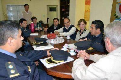 Policía y municipios se movilizan por seguridad