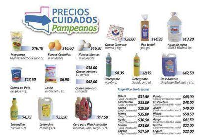 Precios Pampeanos: incorporan más productos a la lista