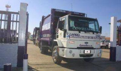 Conflicto Covelia-Quilmes: Comenzó la recolección de residuos tras la municipalización