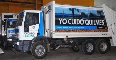 Estiman que tardarán tres días en levantar la basura acumulada en Quilmes