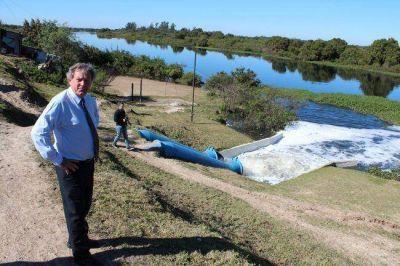 Sistema de bombeo de la ciudad opera ante la crecida del río Paraguay y continuas lluvias