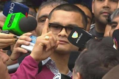 Marcos Chino Maidana regresó al país: