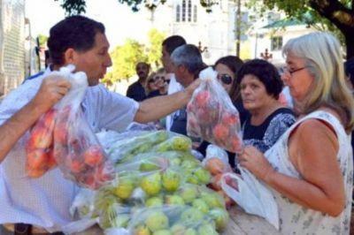 Frutas y Verduras Para Todos estará este miércoles en Paraná