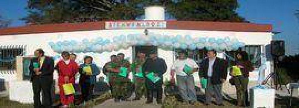 Nueva sala de Atención Primaria de Salud en Higuerillas