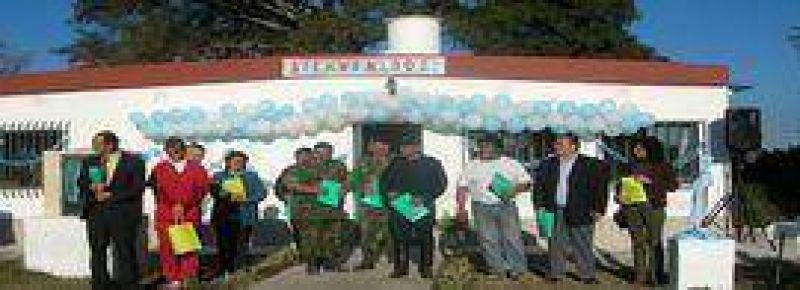 Nueva sala de Atenci�n Primaria de Salud en Higuerillas