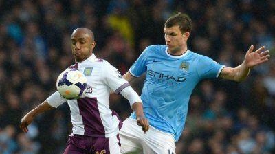El Manchester City vence al Aston Villa y se adue�a de la cima