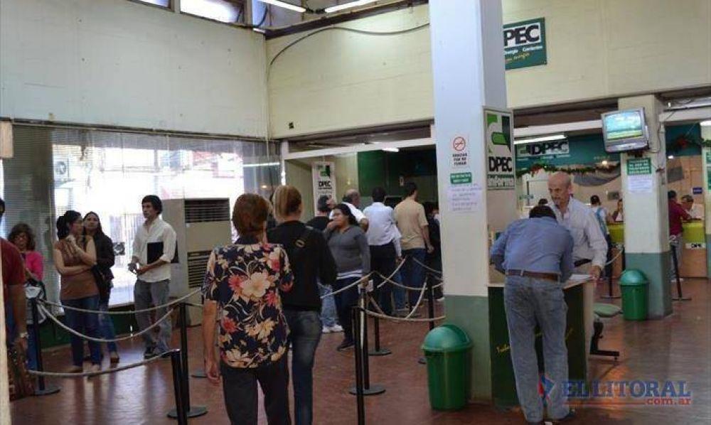Trabajadores de la Dpec decidieron retomar hoy las medidas de fuerza