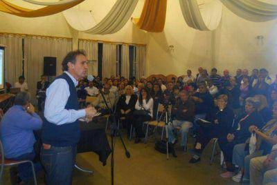 """Katopodis: """"Vamos a poner mucho peso para el proyecto nacional de Massa"""""""