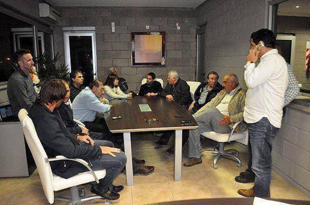 Transportistas en conflicto con Loma Negra