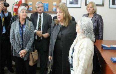 La viceministra de Trabajo puso en marcha la sede del gremio de empleados de casas particulares
