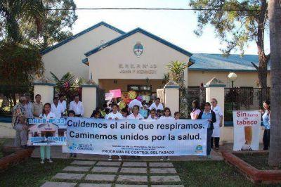 """Herradura marchó por una """"comunidad libre de humo de tabaco"""""""