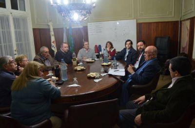 Reunión del Intendente Gorosito con la Dirección de la Cooperativa Eléctrica