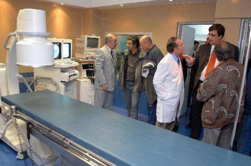 Modernos equipos para el Sanatorio Austral