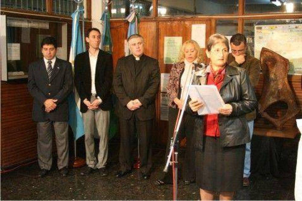 Con la presencia de la Intendente Giroldi - Se conmemoró el Día de la Bandera