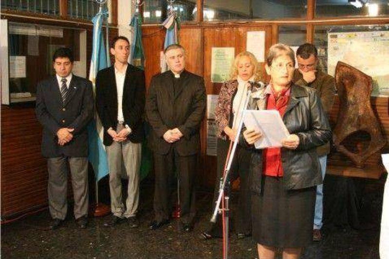 Con la presencia de la Intendente Giroldi - Se conmemor� el D�a de la Bandera
