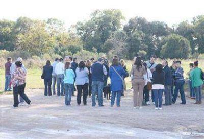 Técnicos de SEDRONAR visitaron el terreno del futuro CEPLA local