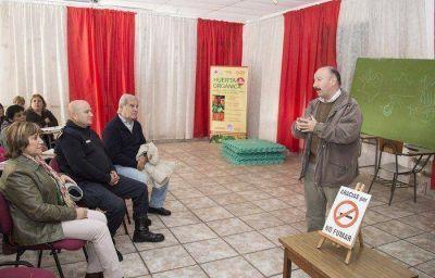 Inza visitó la Cruz Roja y comprometió su ayuda a la institución