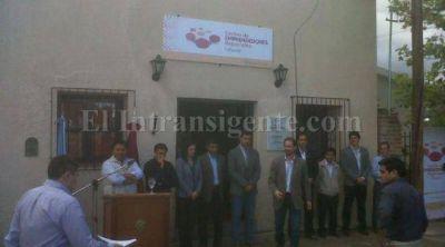 El Gobernador Urtubey inauguró el Centro de Emprendedores de Cafayate