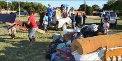 Clorinda: 25 familias son evacuadas por al crecida del río Paraguay