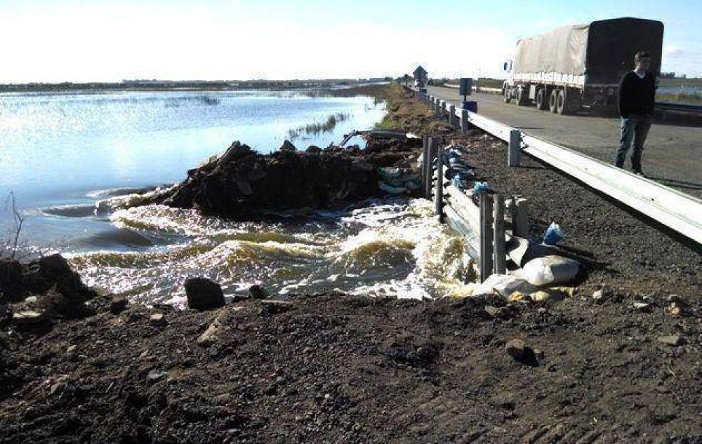 Río V: proponen crear sitio web con datos del nivel de agua