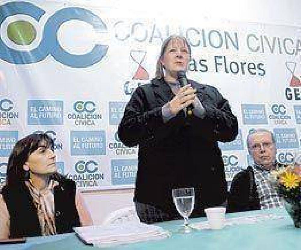 """La Coalición Civica quiere """"peronizar"""" a De Narváez"""