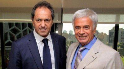 Scioli se mostr� con De la Sota tras las duras cr�ticas del gobernador cordob�s al PJ