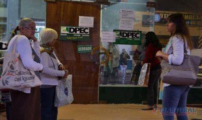 Dpec: siguen las asambleas y se resiente la atenci�n al p�blico