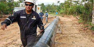 Anuncios sobre el Gasoducto NEA