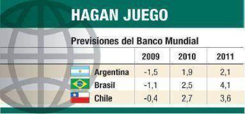 Banco Mundial prev� que la Argentina caer� un 1,5%
