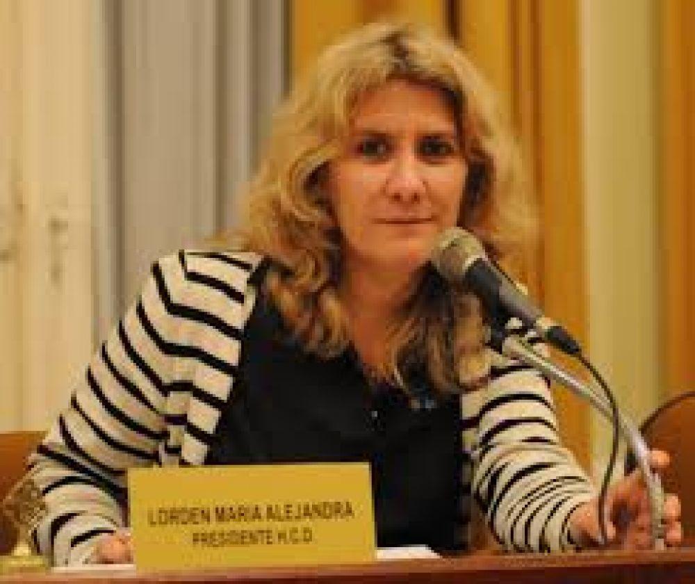 Proyectos de la concejal Alejandra Lorden
