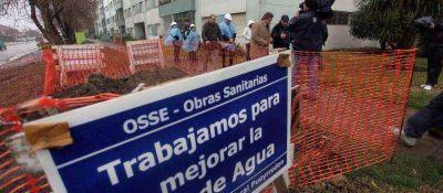 El Municipio realiza obras de desagües pluviales y pavimentación en el Puerto
