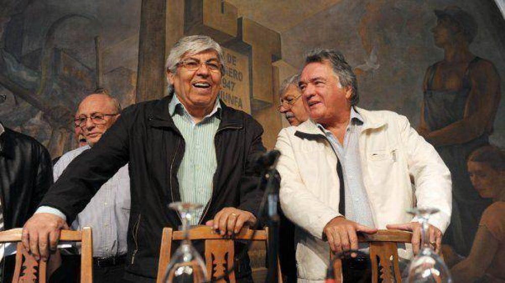 Moyano y Barrionuevo marchan a Plaza de Mayo este miércoles