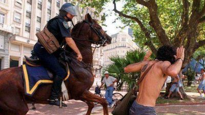 Inicia la toma de testimonios por la represión en 2001